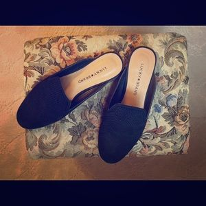 Lucky Brand woman's black loafers